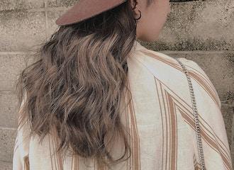 トレンドの透明感カラー<br>髪に優しいデザインカラー<br>.room.こだわりのカラー技術