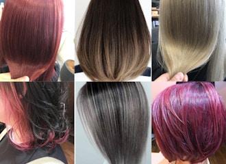 ナチュラルから派手カラーまで<br>あなたの「なりたい髪色」を叶えます
