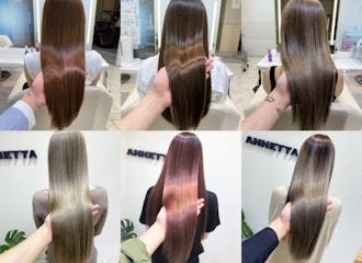 お客様の80%以上がリピート!艶髪の秘密は【カラー剤】にもあります。【艶】がでるオイルカラー【iNOA】取扱