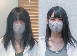 マスクが欠かせない今の時代。<br> 顔まわりのヘアスタイルで華やかな印象に♪