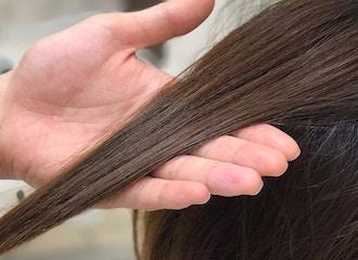 乾燥の時期には髪に潤いを <br>3STEPシステムトリートメント