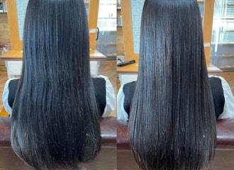 本気の髪質改善<br />お任せください!<br />一人ひとりに合わせた髪質改善