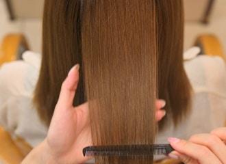 30代後半からの髪質改善で<br>ずっと綺麗が続くお手伝い。