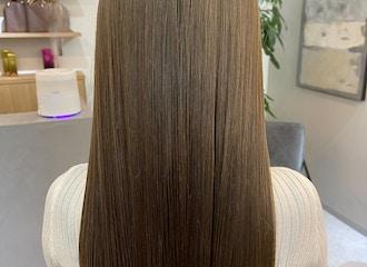 他サロンのヘアケアでは満足できなかった方へ<br>新時代髪質改善<br>「酸性ストレート」