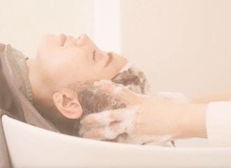 トリートメントとの相性◎<br>炭酸ヘッドスパで頭皮からも髪質を改善します!