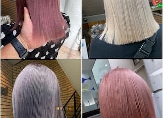 トレンドをおさえた「ペールトーンカラー」で<br>かわいい透けふわ髪に!