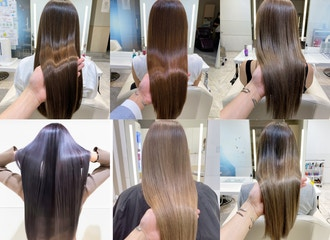 お客様の80%以上がリピート<br>艶髪の秘密は【カラー剤】です