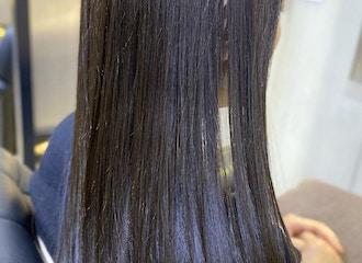 髪質改善しながらキレイに染まる<br>【業界初】髪質改善カラー