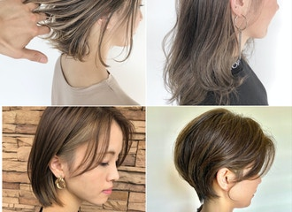 髪のツヤや素材を壊さない<br>髪や頭皮に負担をかけないカラー<br>ハッピーワークス独自の技術力