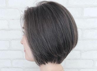 """白髪のある方でも楽しんでいただける""""ハイライト""""<br>  白髪がオシャレデザインに"""