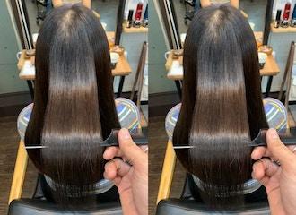 ダメージヘアの艶・手触りを回復*<br>水分を髪に閉じ込め<br>髪の表面も内部もしっかり補修<br>サイエンスアクア美髪チャージ