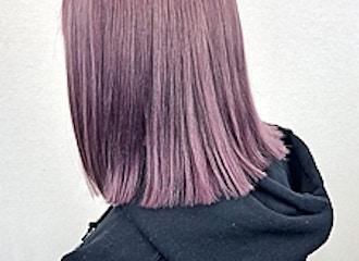 ケアブリーチWカラー⭐️<br>Instagramで見たあのカラーも<br>他店で断られたカラーも<br>WARPなら青葉台で再現できます♪