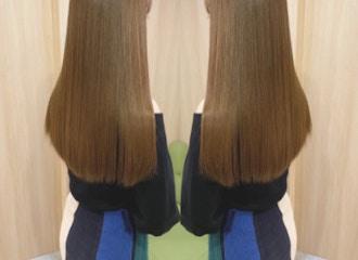 """くせ毛で髪の毛が扱いづらい・・・そんなお悩みを""""縮毛矯正""""で改善します♪"""