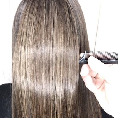 【髪質改善フルボ酸カラー】<br>カット+カラー+トリートメント+魔法のバブルmarbb