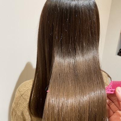 NEW☆酸性ストレート+髪質改善TR+カット(カラー同時施術不可)