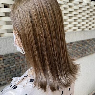 【初回~3回目】¥8800<br>カット+髪質改善カラー+超音波トリートメント
