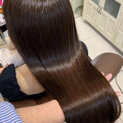 【髪質改善】<br >カット+髪質改善プラチナシステムトリートメント