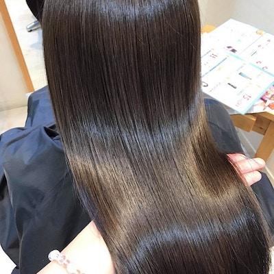 カット+髪質改善パールプラチナトリートメント