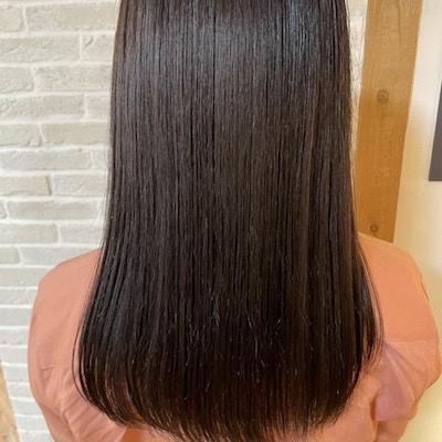 【美髪☆1回目限定】カット+カラー+髪質改善トリートメント
