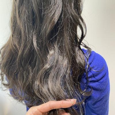 【大人女性の白髪対応】カット+関西初上陸イオン水カラー