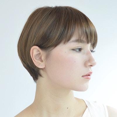 人気no.3【ツヤ髪&ケア】カット+ダメージレスカラー