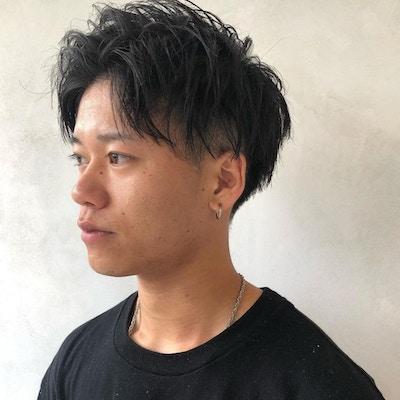 【人気No.2】<br>メンズカット+パーマ