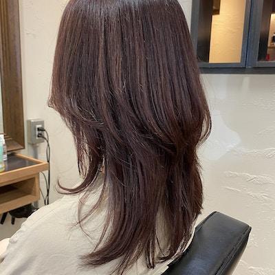 【髪・頭皮に優しいカラー】<br>有機イオン化ミネラル配合白髪染め+カット+トリートメント