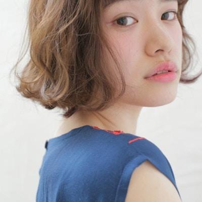 【大人女性支持率No.1】~150分~<br>カット+おしゃれ白髪染め+エイジングヘッドスパ
