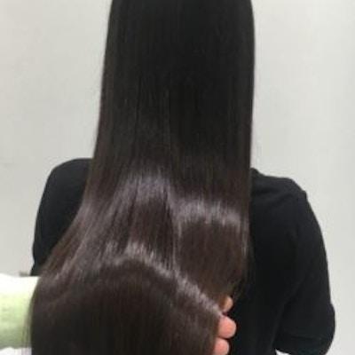 ■贅沢艶髪体験■ <br>ノンダメージ髪質改善+カット