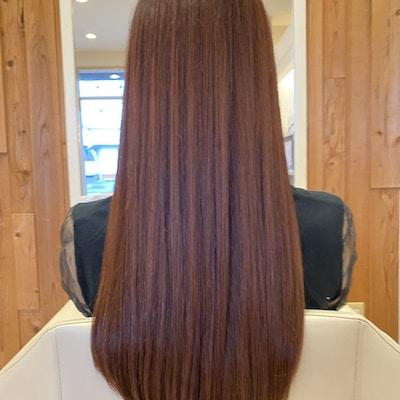 【地域No1艶髪サロン】これ以上はない。。最上級の髪質改善縮毛矯正¥19800