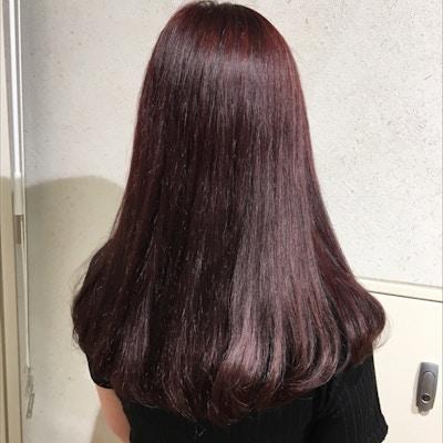 【平日でお得に】<br>ニュアンスカット+カラー+髪質改善AujuaTR