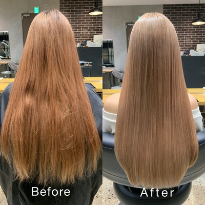 【平日限定】カット+イルミナカラー+髪質改善ULTOWA+炭酸泉