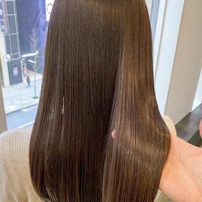 【1日3名限定】髪質改善ULTOWA+イルミナカラー+前髪カット+炭酸泉
