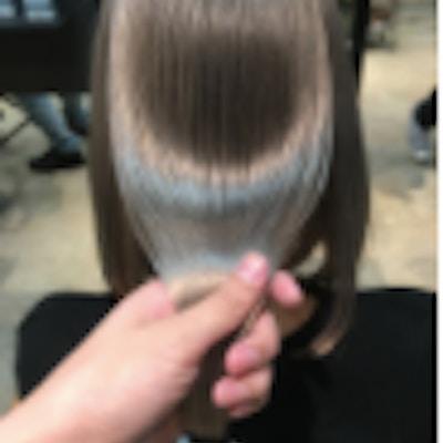 オラプレックス+縮毛矯正