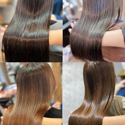 【定番クーポン】<br>[平日限定で大人気♪]<br>髪質改善カラーエステ(白髪染め対応)+ツヤ髪カット