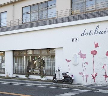 dot.hair 伊丹本店店内