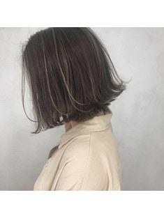 【LUFE町田】大人グレージュハイライト 担当池川