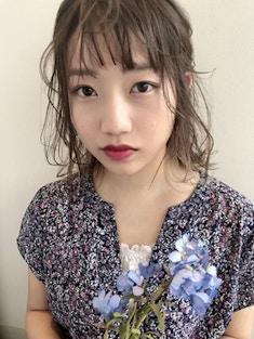 【櫻井 聖】アディクシーで作る透け感アッシュ