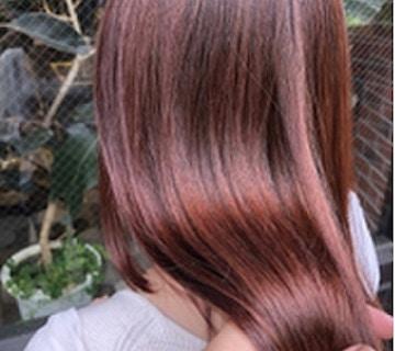 夏×酸性縮毛矯正×デザインカラー