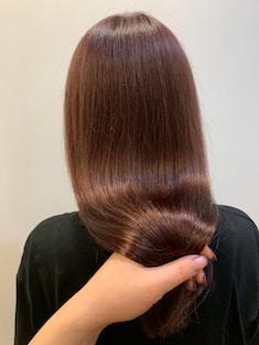 酸性縮毛矯正×美髪ロング×大人かわいい