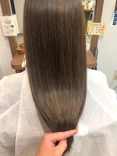 酸性矯正×つや髪×ココアブラウン