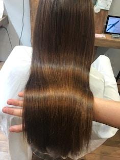 カラーエステで天然の栄養補給でうるツヤ美髪ヘア♪