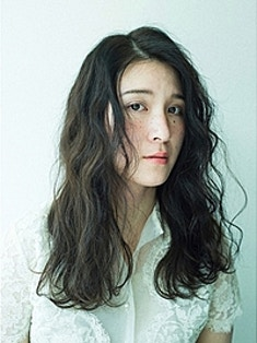 ヴィンテージロング/ハイライト/暗髪
