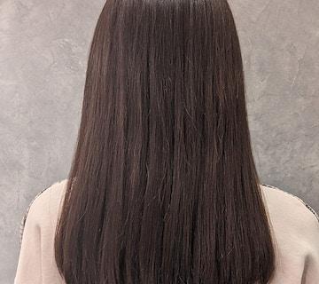 「美髪ケア」素髪仕上がりのDr.カラー