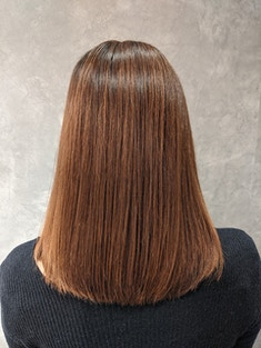 【質感調整】乾かしただけでこの美髪(ハンドブロー仕上げ)