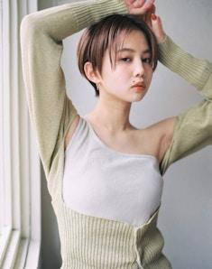 クールショートピンクベージュ/インスタ@masahiro_yoshida_x8