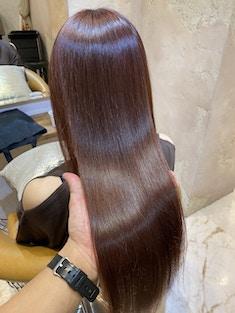 【永久持続!クセを伸ばす髪質改善】