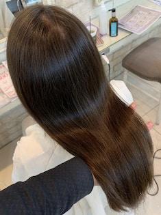 【ツヤ髪コース】カット+全体カラー+髪質改善プラチナTr