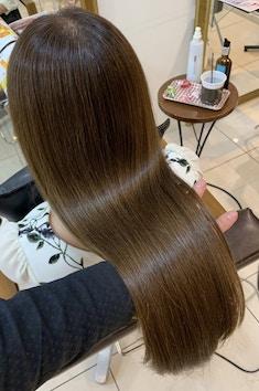 【髪質改善】自社開発メニュー プラチナシステム