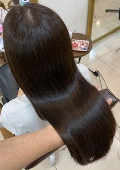【髪質改善】ウル艶を実感 自社開発 プラチナストレート
